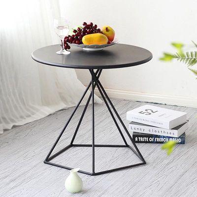 北欧边几 ins 创意茶几客厅简约沙发角几小边桌铁艺卧室圆桌迷你