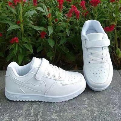 【现货秒发】童鞋时尚板鞋贝壳头儿童运动鞋中大男女小白鞋学生鞋