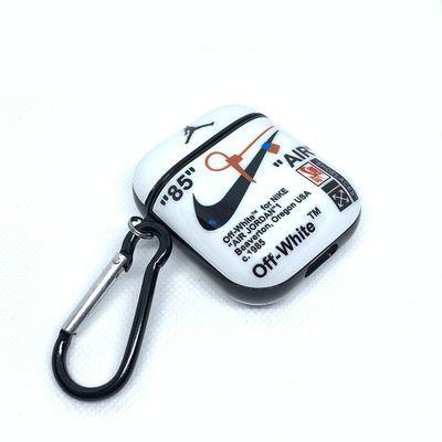 AirPods保护套潮牌NIKE三叶草苹果airpods1代2代蓝牙耳机保护壳软