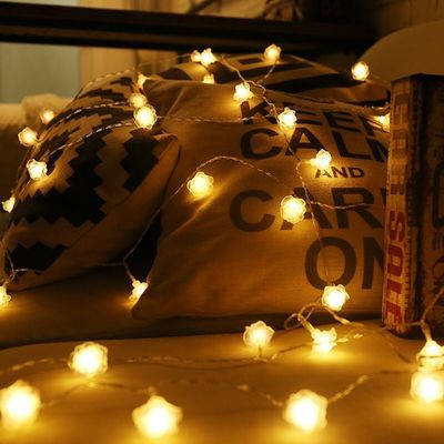 星星彩灯led灯饰网红装饰小件房间改造i夜灯闪灯串串灯满天星灯串