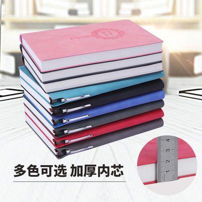 a5记事本商务复古韩版手账本羊巴皮笔记本本子小随身可爱厚手帐本的宝贝主图