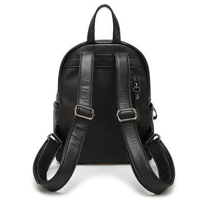 双肩包女新款韩版女士背包休闲旅行包软面背包电脑包潮包百搭女包