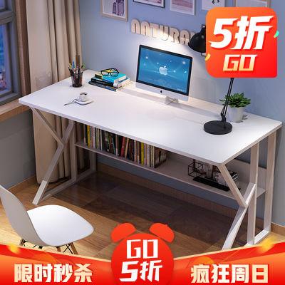 电脑桌台式家用办公桌子简约现代写字桌学生学习桌简易经济型书桌