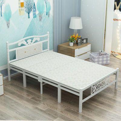 折叠床单人床家用午睡床免安装办公室午休床木板床双人床简易床成
