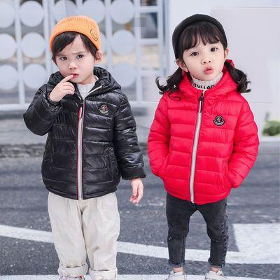 清仓特价2019新款儿童棉服轻薄中小童儿童羽绒棉服男女童保暖外套