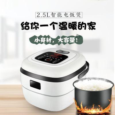 【亏本促销】家实1.2L2.5升智能迷你小电饭煲锅小4家用宿舍预约3