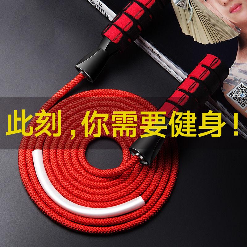 健身减肥器材运动女性燃脂跳绳男成人专用小学生专业中考钢丝负重的细节图片1