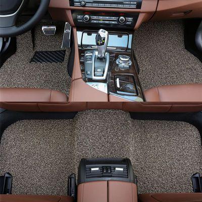 汽车丝圈脚垫马自达632CX-4昂克赛拉睿翼星骋阿特兹CX-5专用