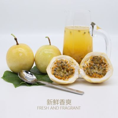 朵果果黄金百香果包邮黄色百香果大个多规格黄色广西特级黄色香甜