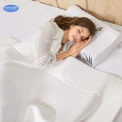 泰国进口天然乳胶被子双人夏凉被空调被乳胶毯子春秋午睡毯可水洗