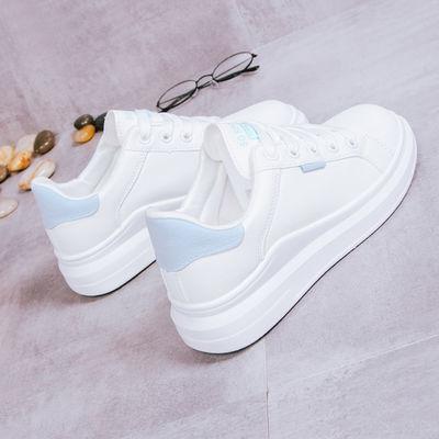 春季新款小白鞋女韩版百搭学生白鞋休闲鞋平底鞋2020单鞋女鞋子QW