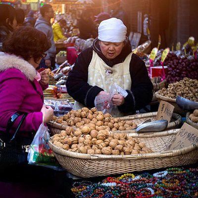 陕西特产西安椒盐纸皮核桃熟薄皮500g孕妇零食坚果类批发新疆黑桃