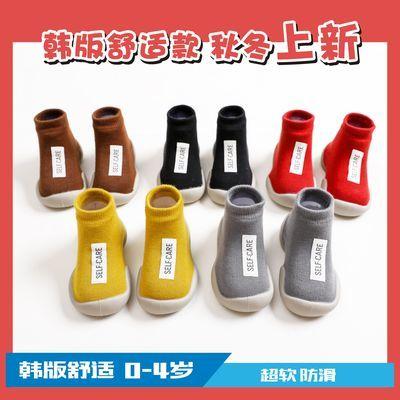 【春夏上新】0-4岁春夏婴儿学步鞋男女童袜鞋软底防滑地板鞋防水