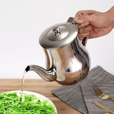不锈钢小油壶厨房防漏酱醋装油瓶油罐家用餐厅调味瓶酱油醋调料壶