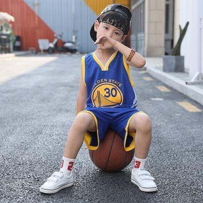 NBA篮球服男套装定制儿童勇士库里湖人詹姆斯科比哈登火箭队球衣
