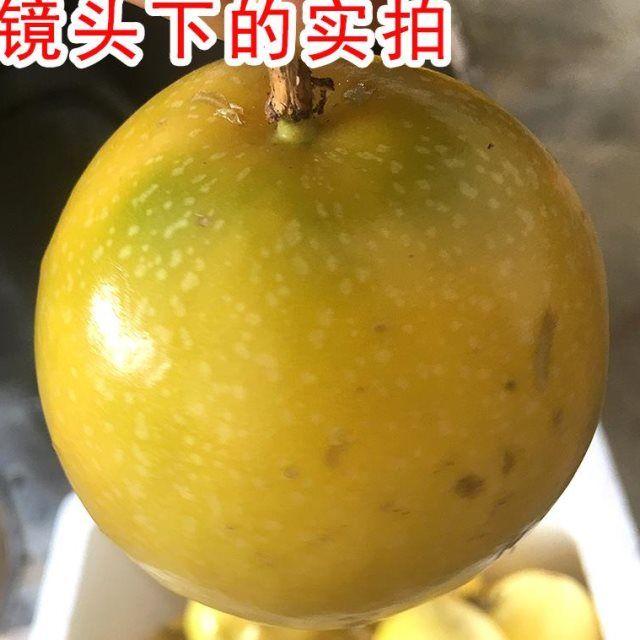 黄金百香果5斤装包邮黄皮白香果6新鲜广西酸甜黄色百香果孕妇水果_1