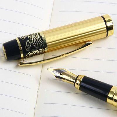 【送笔尖】英雄钢笔901美工笔 学生书法练字商务办公礼品签字钢笔【3月8日发完】