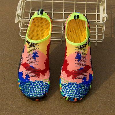 沙滩潜水鞋涉水鞋速干游泳鞋男女情侣漂流鞋户外运动溯溪鞋防滑鞋