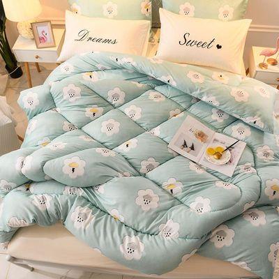 冬被子加厚保暖被芯褥子太空被棉絮盖被春秋铺床垫被学生宿舍必备【3月9日发完】