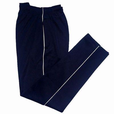 男运动裤校服裤一条杠白边初中蓝色高中学生大码春夏校裤薄款裤子