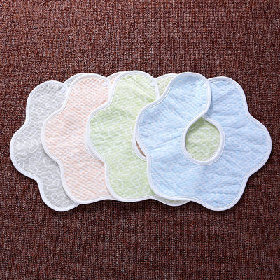 【35条装】婴儿围嘴纯棉宝宝按扣系带食饭兜新生儿童口水巾0-3岁