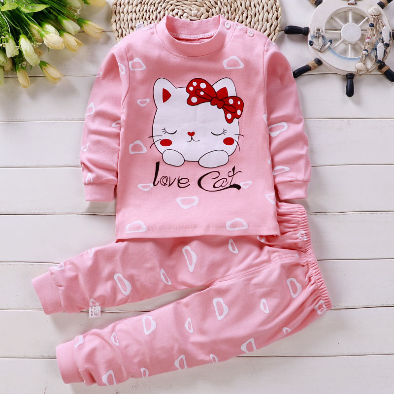 儿童内衣套装纯棉宝宝秋衣秋裤0-15岁男童女童中大童睡衣婴儿衣服