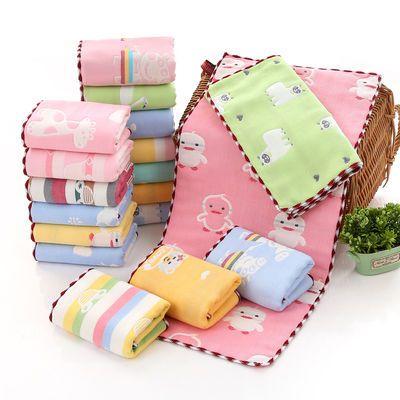 3-5条装 成人儿童毛巾纯棉洗脸纱布小毛巾 方巾 手帕巾软吸水批发