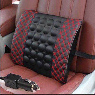 汽车腰靠电动按摩腰靠垫车用靠垫车载头枕家用座椅背靠垫货车靠垫