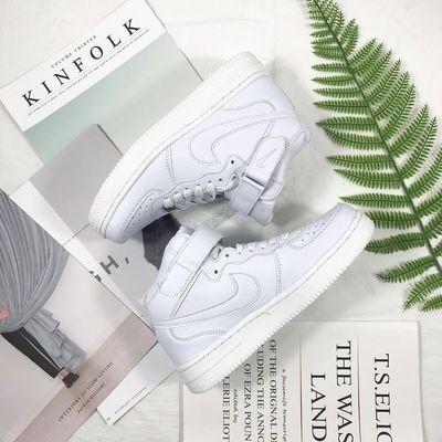 AF1空军一号男鞋板鞋女鞋小白鞋高低帮纯白小麦色运动休闲情侣鞋