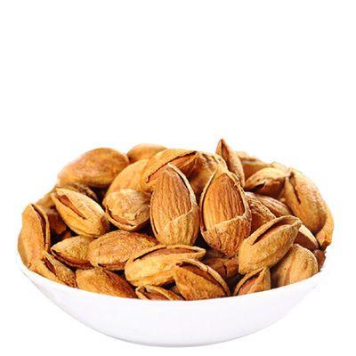 巴旦木 坚果炒货扁桃仁巴达木 休闲零食特产 薄壳奶油巴旦木