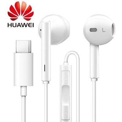 原装华为耳机Type-c荣耀R17小米6P20p30am115am116通用半入耳耳机