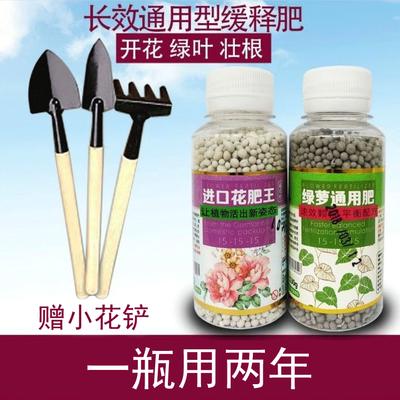 花肥料植物通用盆栽花卉多肉绿萝专用肥氮磷钾缓释肥水培复合肥料