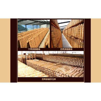【厂价促销】湖南安化黑茶花卷茶百两茶3.625kg千两茶安华莱黑茶