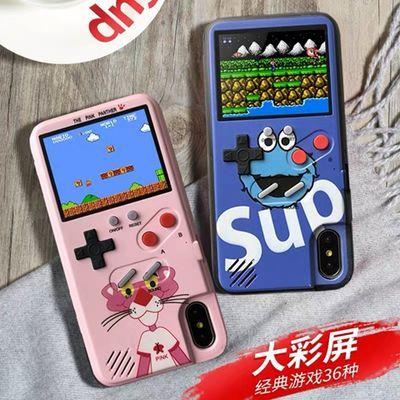 彩屏游戏机OPPOa9/reno手机壳vivox27华为mate20pro/p30/荣耀9x套