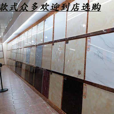 地板砖瓷砖800x800客厅抛光砖防滑耐磨玻化砖特价工程地砖白聚晶