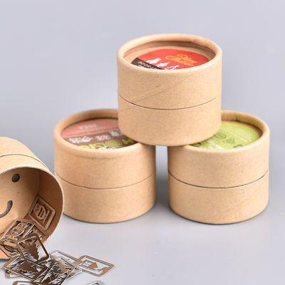 可爱卡通镂空书签 创意中国风金属书签盒装 小清新礼物学生用书签