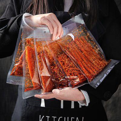 6种网红辣条麻辣零食大礼包小吃湖南特产大刀肉大辣片125g每包