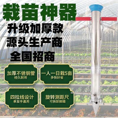 栽苗器种植器点播机施肥器种苗器播种器移栽移苗器秒栽器种菜神器