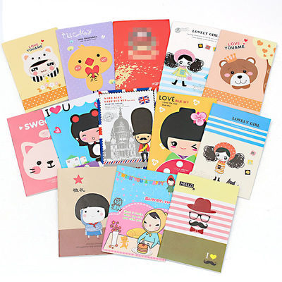 【每本不到3毛钱】卡通记事本可爱小本子小学生奖品礼物笔记本