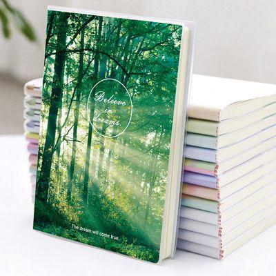笔记本子可爱韩版学生胶套本小清新加厚记事本大本子批发日记本B5