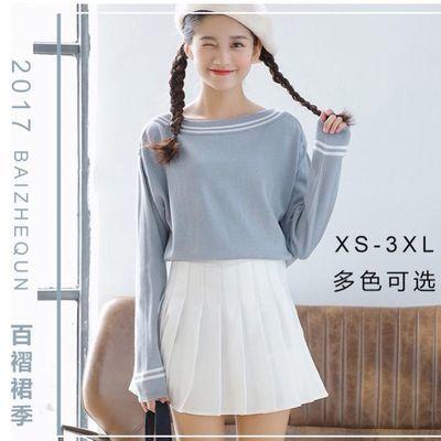 【有安全裤】ins百褶裙女学生韩版高腰超短裙半身裙夏套装半裙子