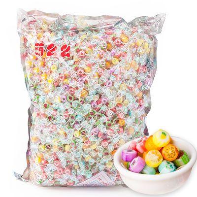 高颜值千纸鹤糖果150g-2500g水果切片糖休闲零食儿童食品糖果批发