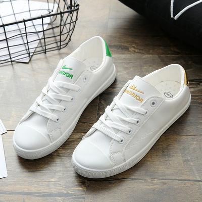 回力女鞋韩版白色新款PU软皮鞋轻便软底休闲运动鞋百搭平底小白鞋