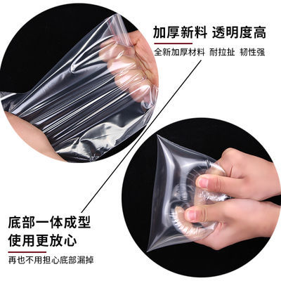 密封加厚食品自封袋子大小透明塑料包装PE封口防水收纳塑封袋批发