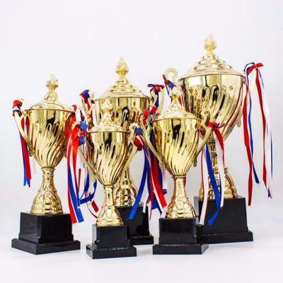 金属奖杯定制比赛奖杯批发公司活动学校运动会通用金属奖杯