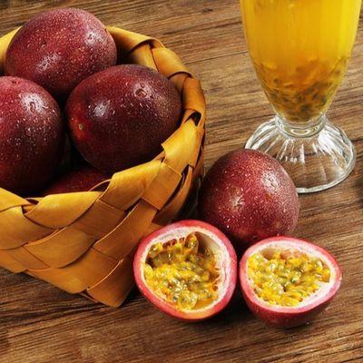 广西新鲜百香果热带西番莲鸡蛋果12个装大红果现摘水果酸爽香甜斤
