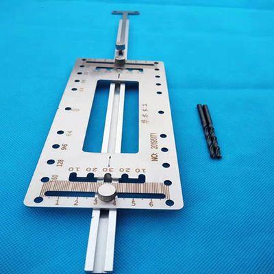 拉手衣柜门把手打孔安装神器可定高度不锈钢拉手定位器五金工具