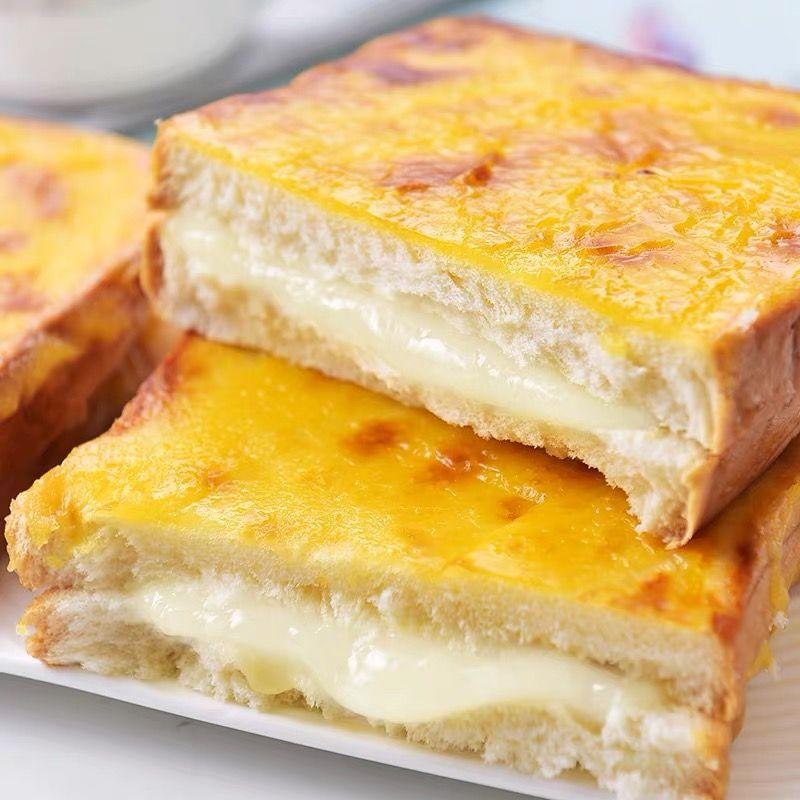 【整箱2斤】岩烧乳酪夹心吐司面包片蛋糕早餐糕点批发1斤-半斤