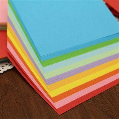 买2包送剪刀固体胶正方形折纸叠千纸鹤折纸花纹彩纸手工纸材料主图