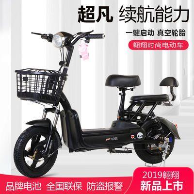 电动车成人锂电池电瓶车双人48V电动自行车男女电动踏板车代步车